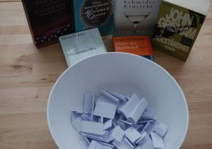Gewinnspiel Tag des Buches 2013 - Auslosung