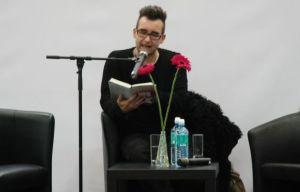 """Michael Stavarič liest aus seinem Roman """"Königreich der Schatten""""."""