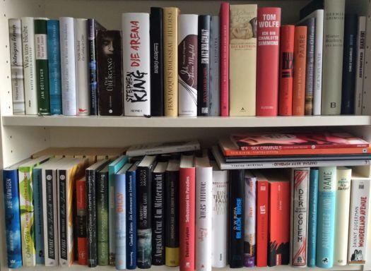 Ein Teil meines Regals der ungelesenen Bücher. (c) Christian Lund